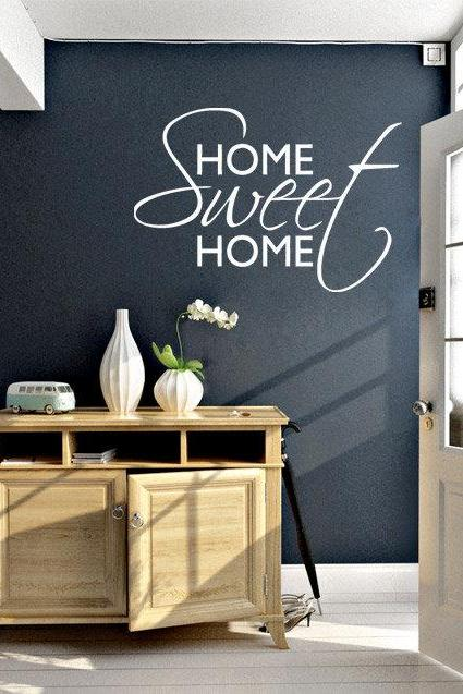 Wall Decal Quotes - Home Sweet Home Quote Sticker Home Decor for Housewares