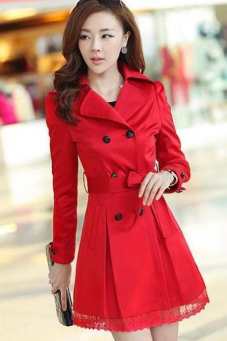 Winter Red Coat on Luulla