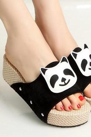 Summer cute panda sandals SS05151SH