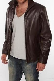 Men REAL leather jacket, real leather jacket