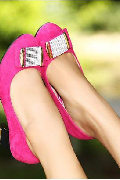 Spring simple fashion diamond women shoes