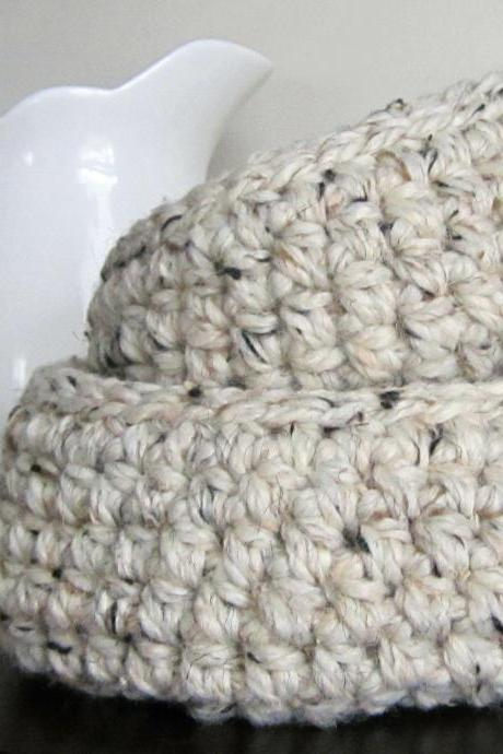 Set of Two Wool Crocheted Nesting Bowls