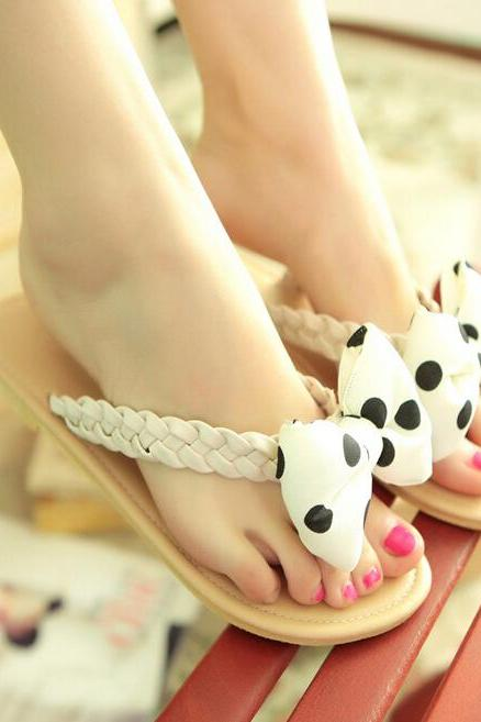 Summer fashion sweet bow sandals SS05222SH