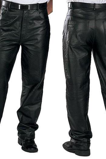 Men's leather pant , real cowhide leather pant