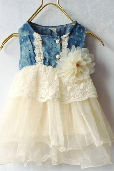 Ivory Dress for Newborn,Ivory Infant baby Girls Props for Newborn Girls