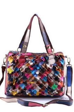 Petals splicing handbag fashion DG61434