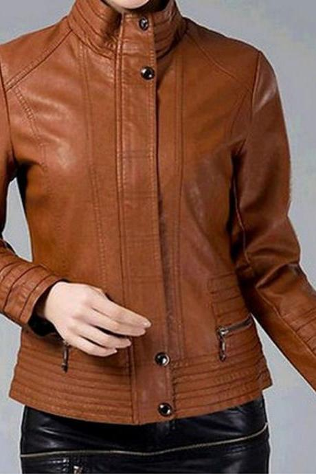 WOMENS BOMBER LEATHER JACKET, LEATHER JACKET WOMEN'S