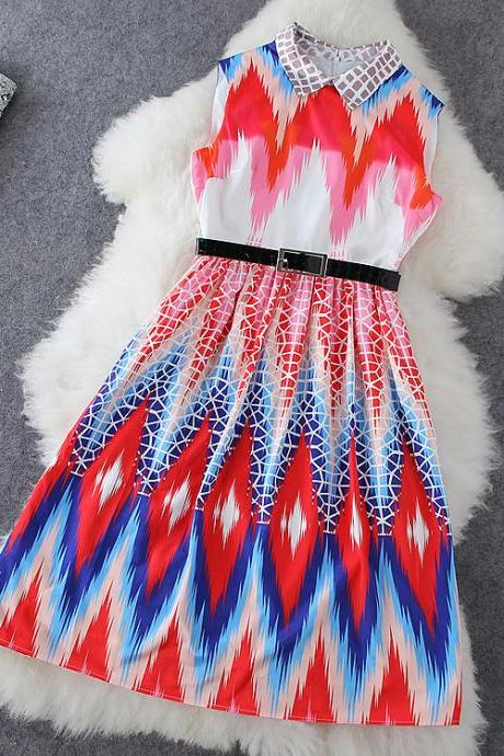 Gorgeous colorful dress ED62644