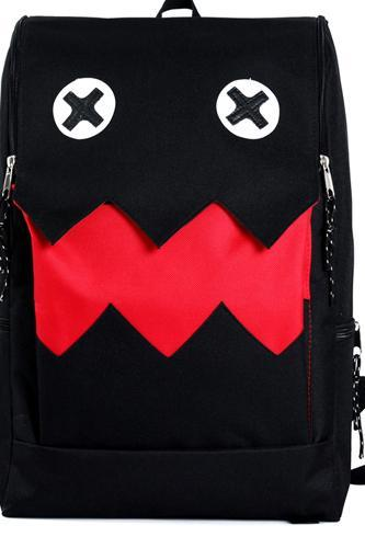 The prince more cartoon fangs backpack Student backpack