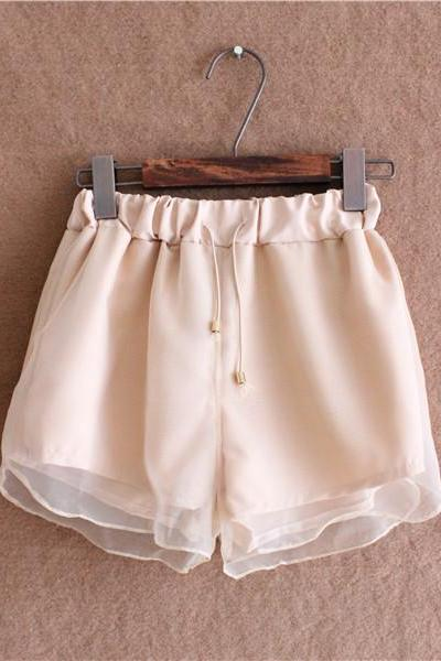 Organza double Shorts HT625CE