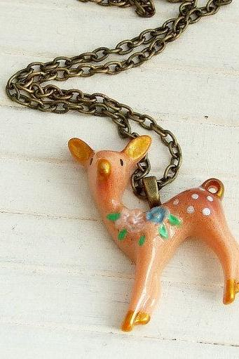 Little Deer Necklace