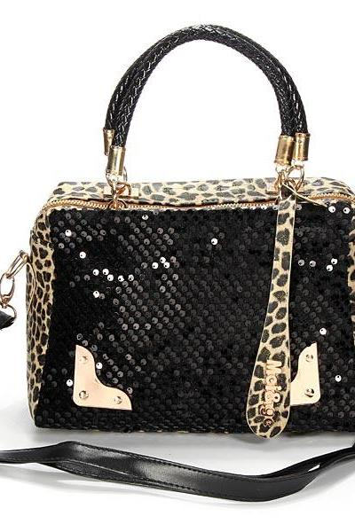 Women Sling Sequins Handbag