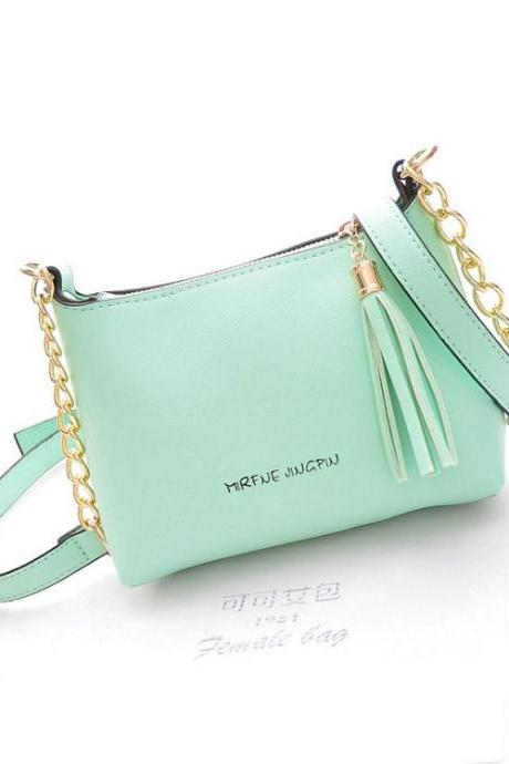 Tassel Cute Chain Shells Shoulder Bag