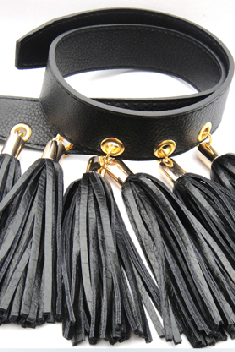 Tassel belt/lady's belt