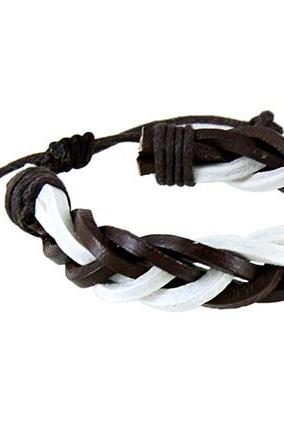 Unisex Retro PU Leather Bracelet