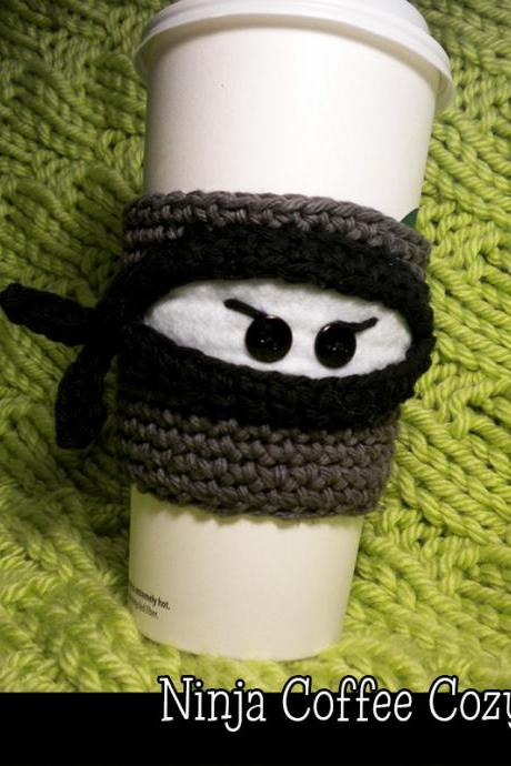 Ninja Coffee Cozy Pattern