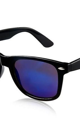 2481 Unisex Plastic Sunglasses (Black)