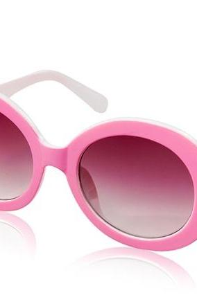 Kadishu 8035 Delicate Women's UV Protection Sunglasses (Pink)