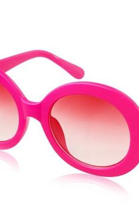 Kadishu 8035 Delicate Women's UV Protection Sunglasses (Rose Red)