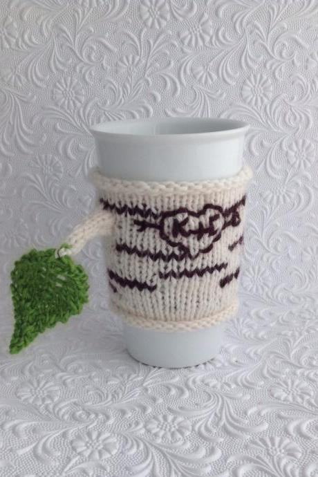 Birch Bark Cup Cuddler Pattern Instant Download