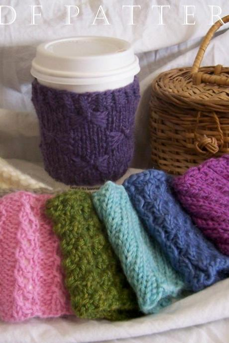 8 Cup Cuddler Instant Download PDF Knitting Patterns - Series II