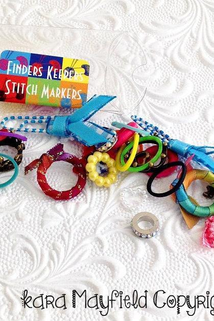Stitch Markers Finders Keepers