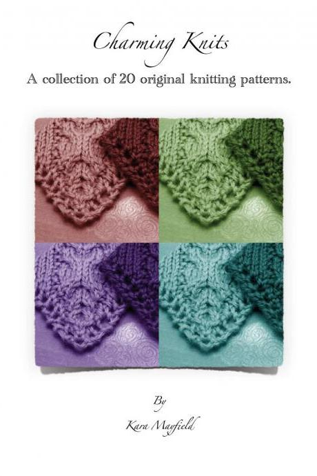 Ebook Charming Knits 20 Quick Easy Knitting Patterns Instant Download