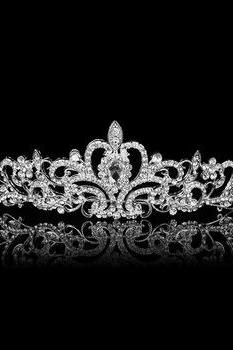 *FREE SHIPPING* Korean rhinestone tiara crown bridal accessories B18