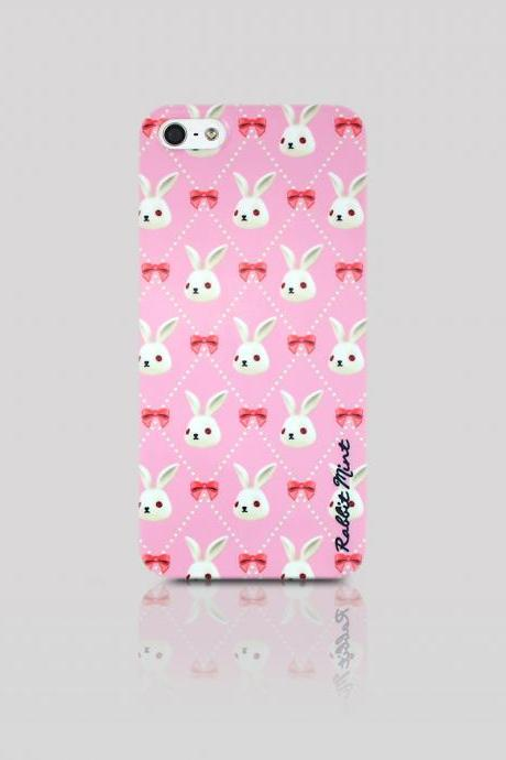 iPhone 5 / 5S Case - Merry Boo & Pink Ribbon (M0013-IP5)