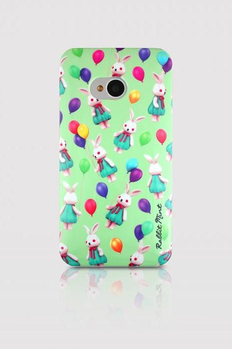 HTC One M7 Case - Merry Boo Balloon (M0010-H1)