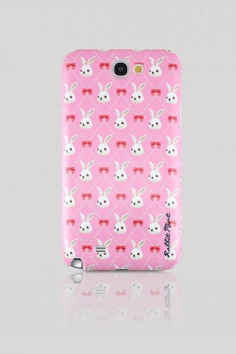Samsung Galaxy Note 2 Case - Merry Boo & Pink Ribbon (M0013-N2)