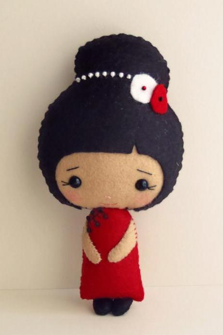 Chinese Girl pdf Pattern
