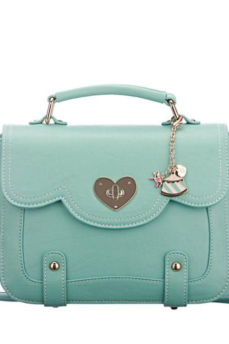 Cool Mint Green Messenger Bag&Shoulder Bag