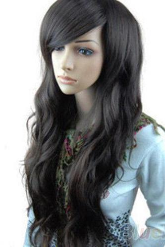 Chic Women Girls Sexy Long Big Curly Full Wavy Costume Hair Wigs