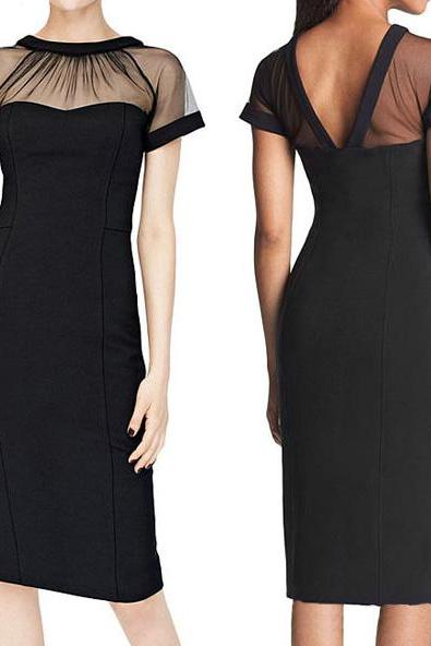 Slim elegance pencil dress