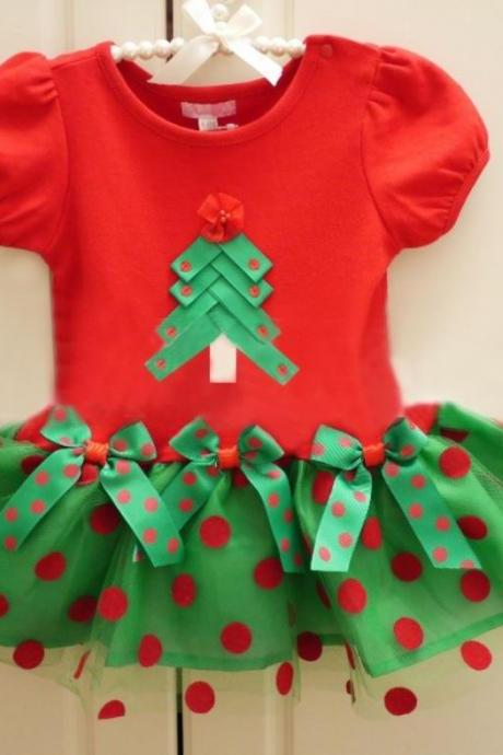 Red Dress for Toddler Girls - Christmas Dress for Newborn Infant Girls