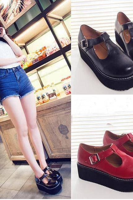 Retro platform shoes AZ910ED