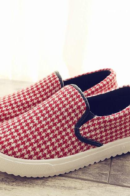 Lazy shoes canvas shoes casual shoes AZ910EG