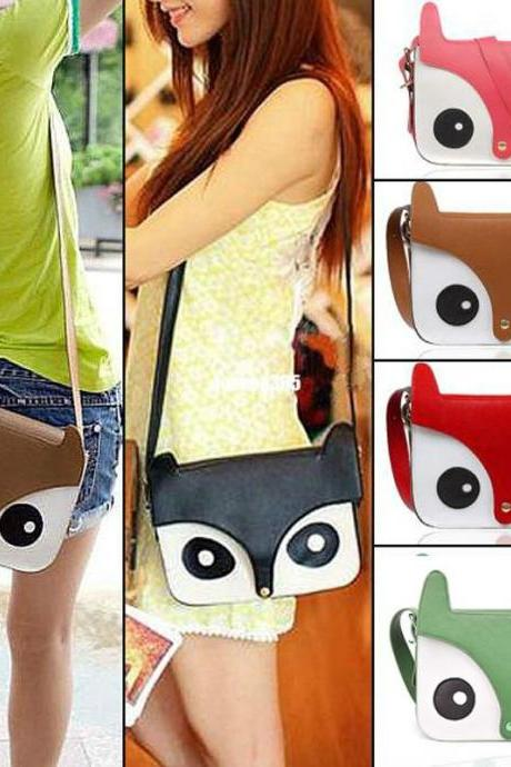 Fox Head Shoulder messenger Bag Handbags