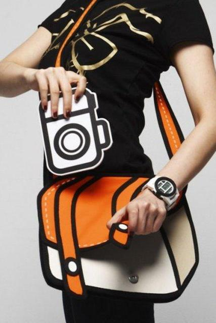 Cute Cartoon 3D Shoulder bag