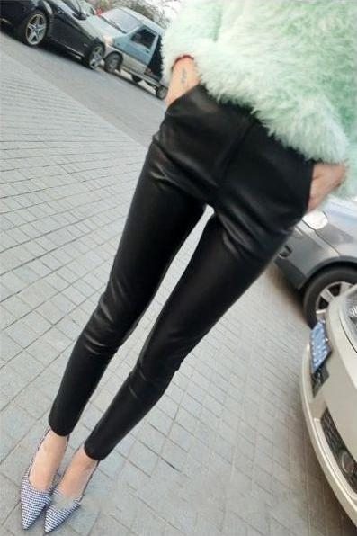 Chic Black Slim Fit Leggings