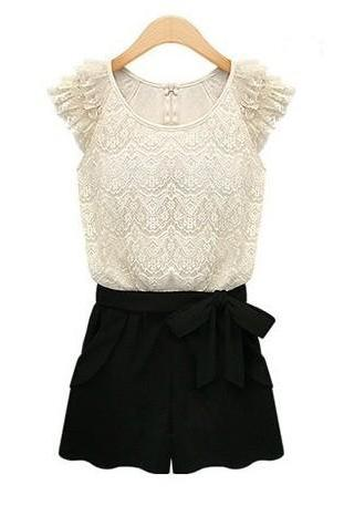 Women's fashion Lace Dress