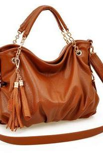 Nice Orange fashion women's Handbag