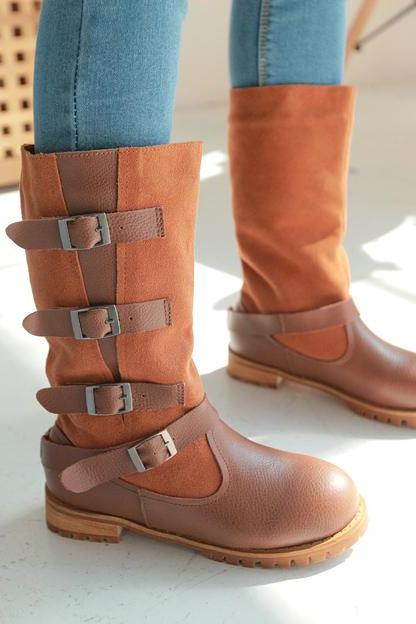 Riding Boots Retro Fashion Timberland Boots combat Boots western Boots