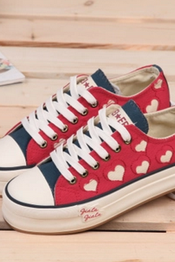 New 2014 Cute Canvas Shoes