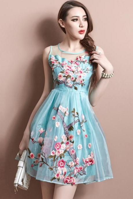 Lovely woman party dress