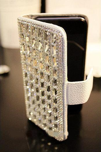 bling leather iphone 6 PLUS case cover, crystal iphone 6 wallet,bling iphone 6 wallet, Silver crystal iphone 6 4.7 Wallet, ,iphone 6 PLUS Wallet case,bling iphone 6 PLUS 5.5 wallet case,bling leather iphone 6 PLUS case cover