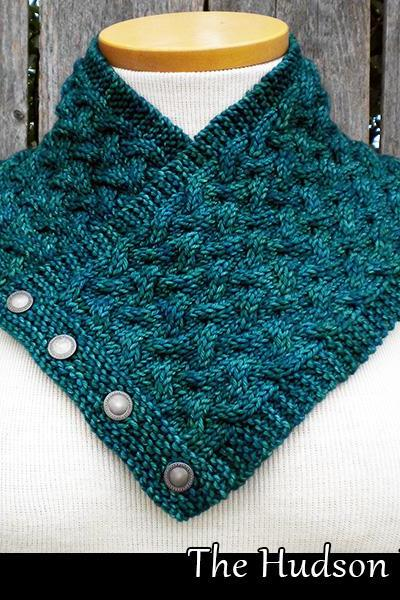 The Hudson River Cowl knitting pattern