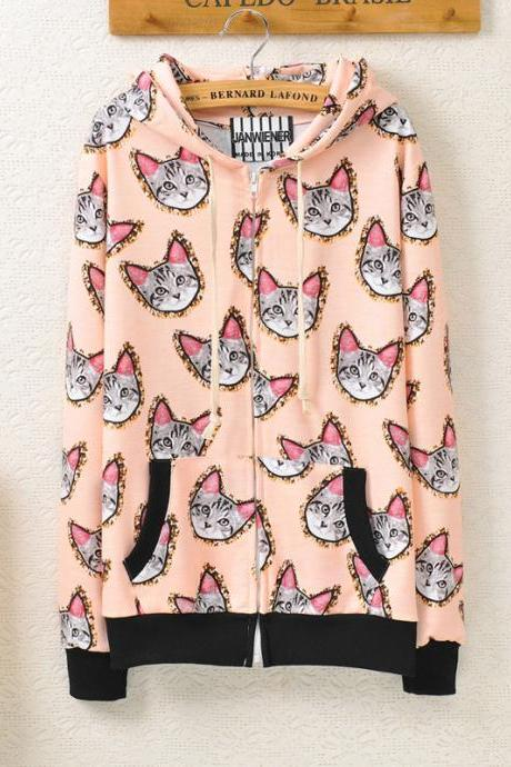 Retro Cat Sweater