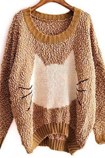 Cat Big Yards Sweater #092818AX